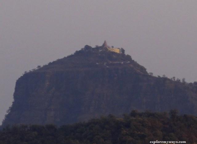 Chauragarh Temple at Pachmarhi