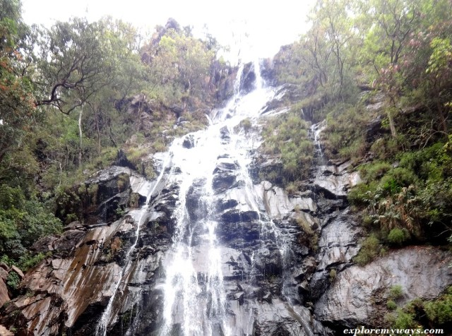 the famous Bee fall of Pachmarhi