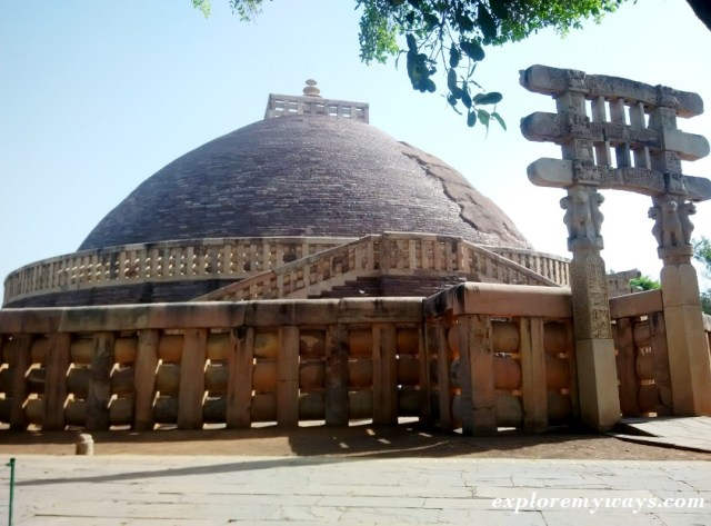Sanchi Stupa, Oldest structure of India