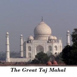 Travel guide to Taj Mahal