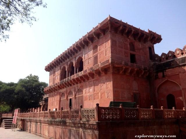 Taj Museum inside Taj Mahal Complex