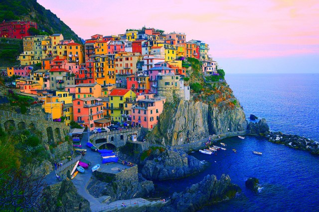 Colourful village of Cinque Terre