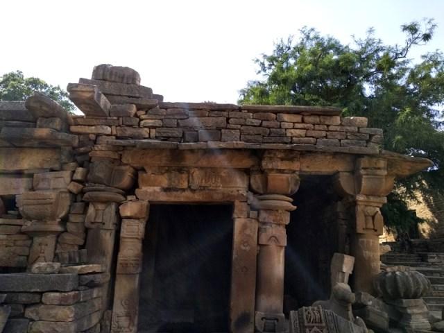 damaged bateshwar temples