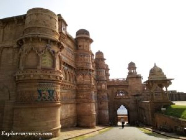Gate of Gwalior Fort