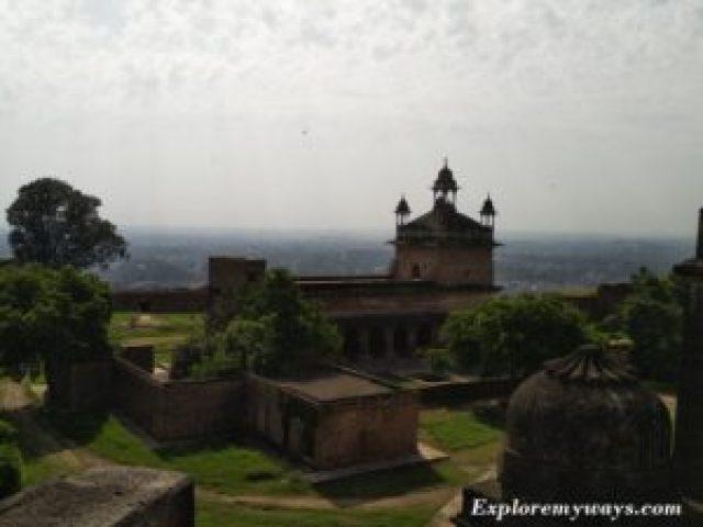 Vikram Mahal in Gwalior fort