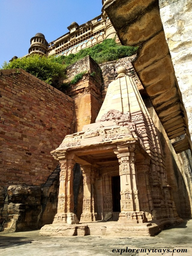 Chaturbhuj Temple in Gwalior fort