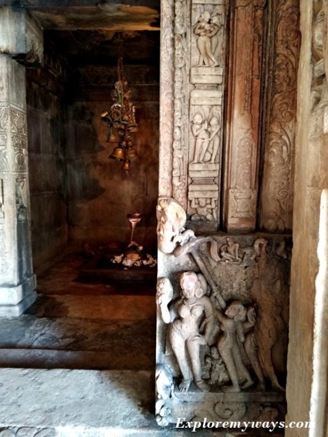 Shiva temple in the Bateshwar temples
