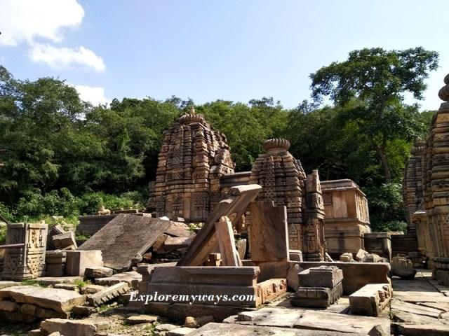 ruin of Bateshwar temples