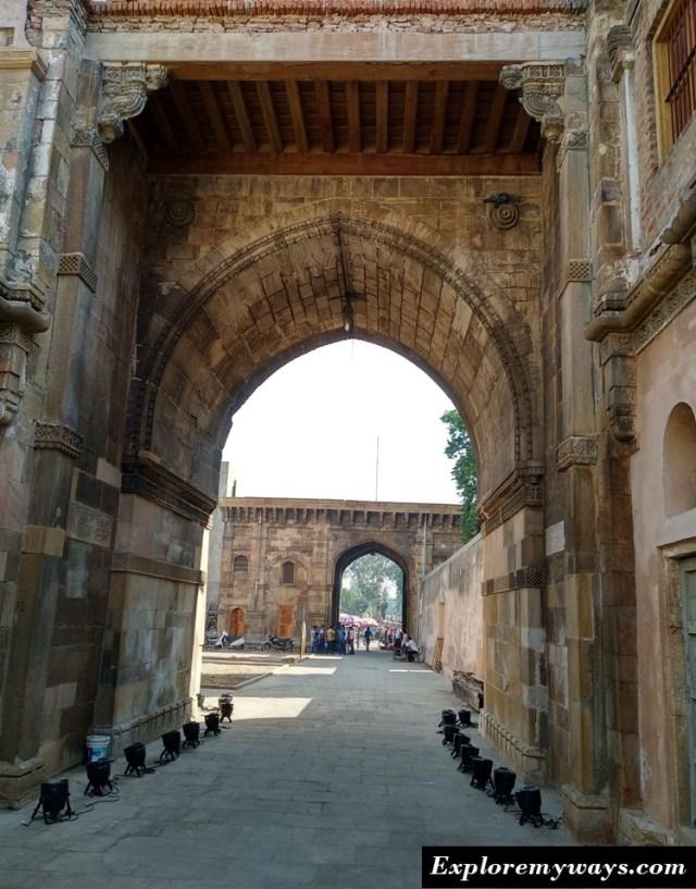 Bhadra Fort 2 ahmedabad city