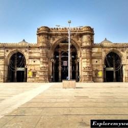 Heritage monuments Ahmedabad city