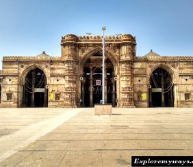 Heritage monuments Ahmedabad city, traveler guide