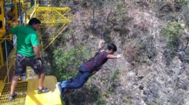 planning Bungee jumping in rishikesh