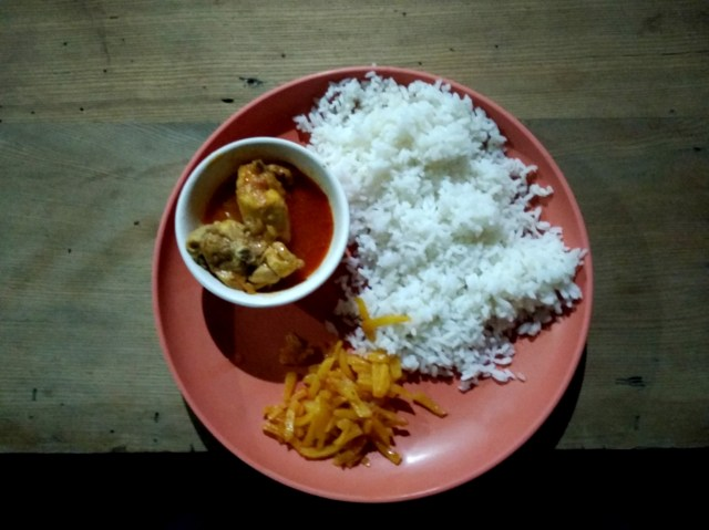 Food during the north sikkim trip