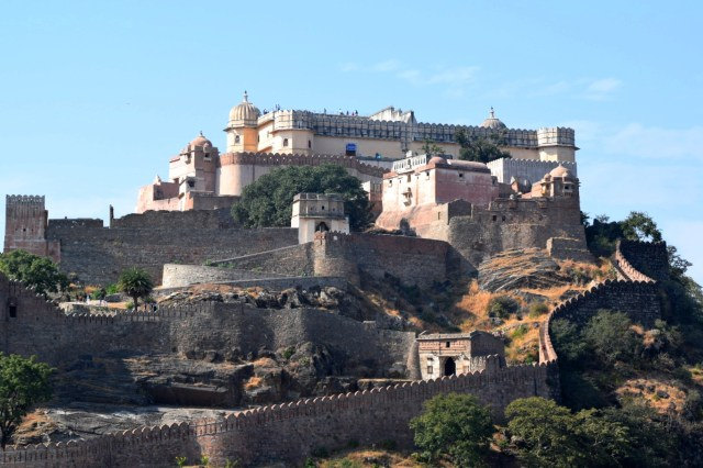 Fort Palace at Kumbhalgarh Fort