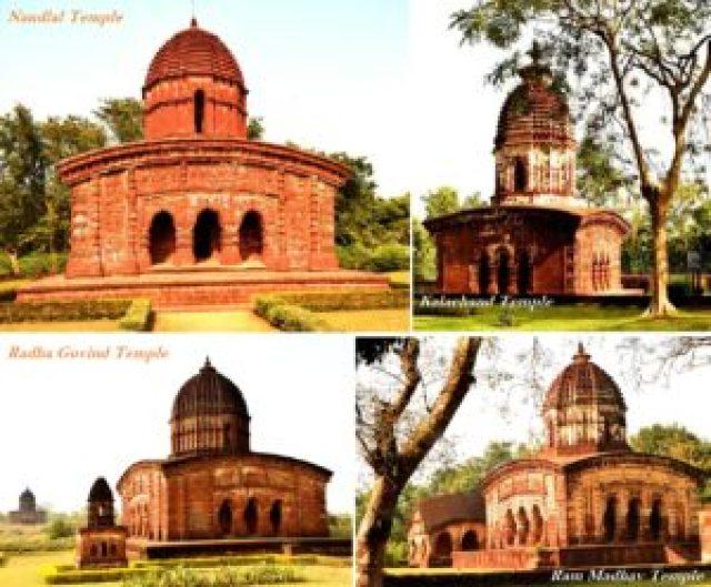 Bishnupur terracotta temples