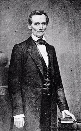 Brady's 1860 photograph of Lincoln