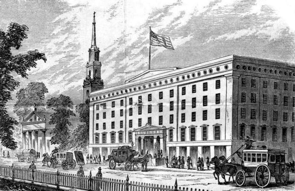 On this day: Abraham Lincoln arrived at the Astor House Hotel in New York