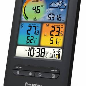 Bresser – WIFI UV & light color weather station 4-in-1