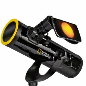 National Geographic – 76/350 Telescope + Sunfilter + Smartphone Adapter