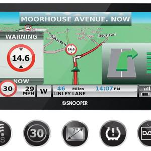 S8100 Truckmate European Truck Sat Nav with Freeview TV Tuner