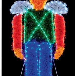LED Toy Soldier Christmas Tinsel Light