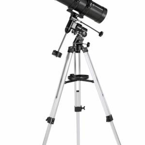 Bresser Pluto II 114/500 EQ Telescope – Carbon Design