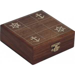 Wooden Tic Tac Toe Game
