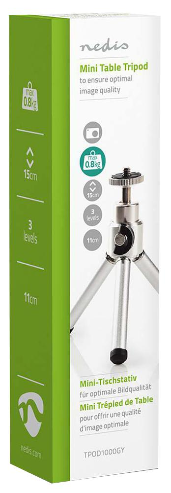 Mini Tabletop Camera / Video Tripod, 15cm