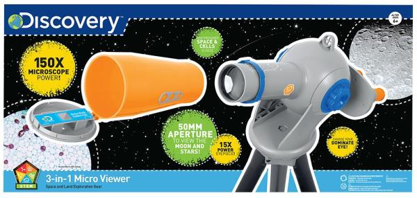 Discovery – 50mm Refractor Telescope