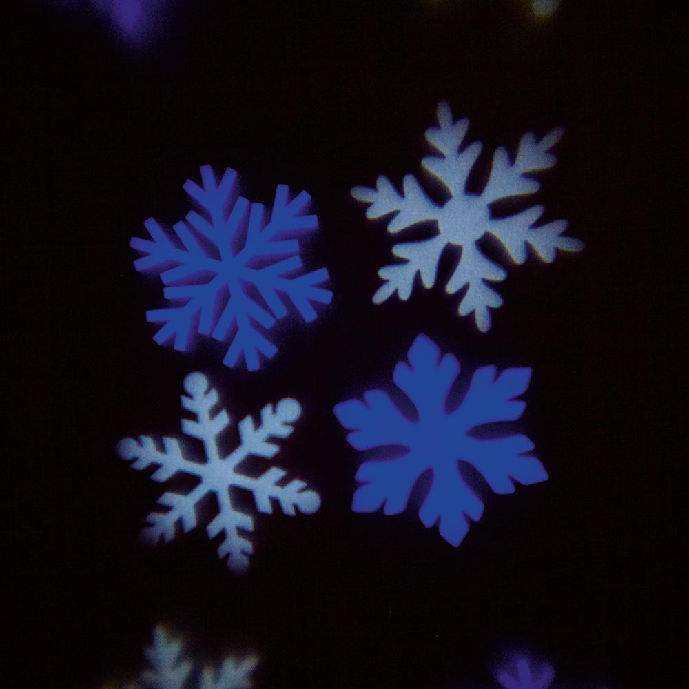 Outdoor Snowflake Projector Light