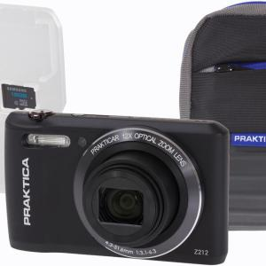 Luxmedia 20MP Black Digital Compact Camera Kit with WiFi