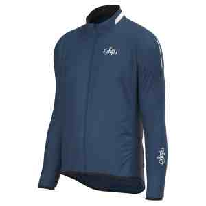 Sigr – 'Treriksröset Blue' Cycling Pack Jacket For Men