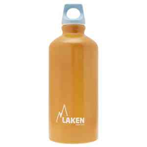 Laken – Alu. Bottle Futura 0.6L – Blue Cap – Orange Bot