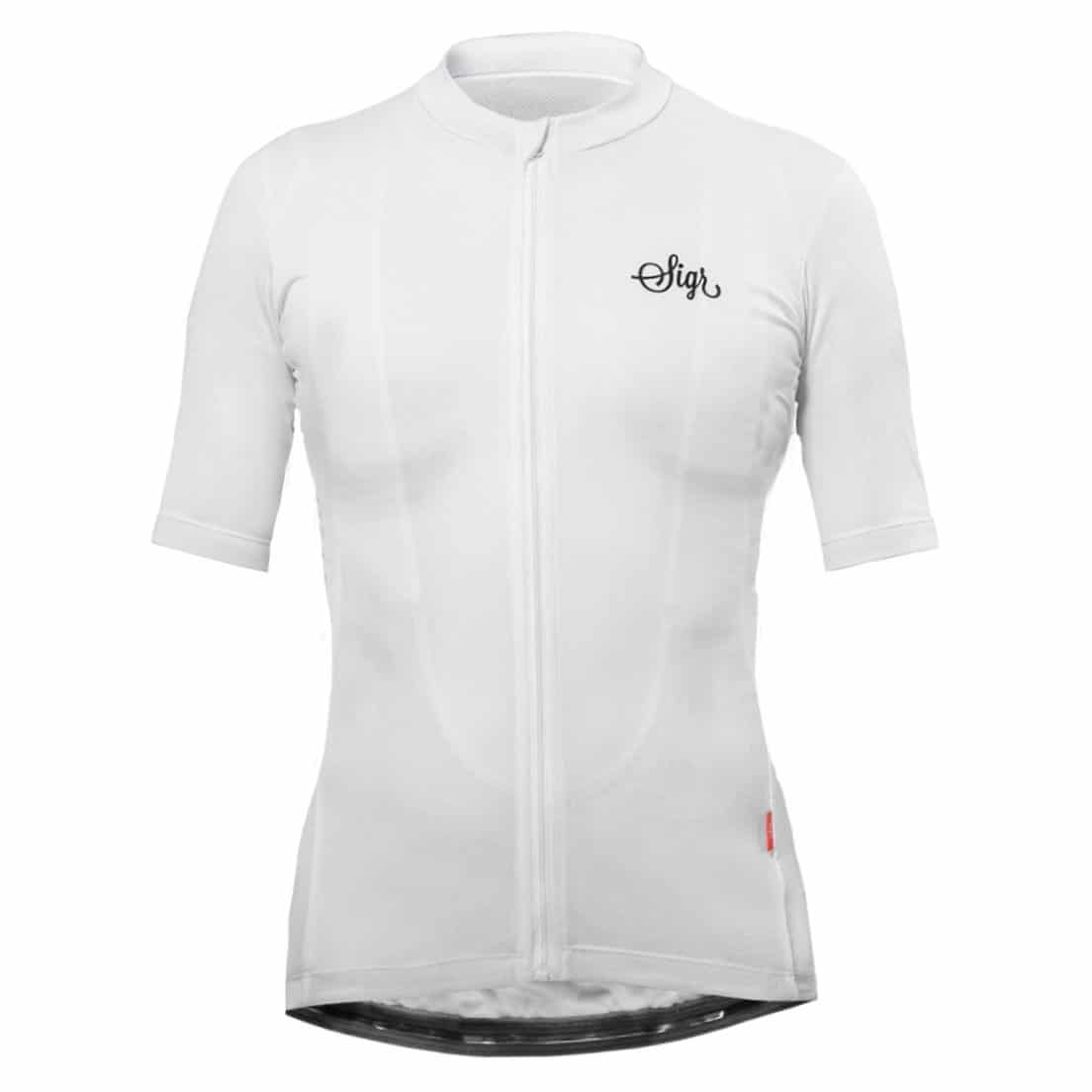 Sigr – Syren White Cycling Jersey for Women