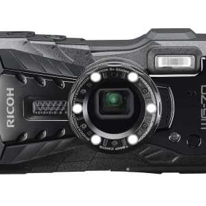 Ricoh WG-70 16MP 5x Zoom Tough Compact Camera – Black