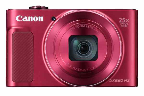 Canon PowerShot SX620 HS 21.1MP 25x Zoom Compact Camera – Red