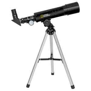 National Geographic 50/360 Refractor Telescope – Black
