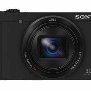 Sony DSC-WX500 18MP 30x Zoom Compact Camera – Black