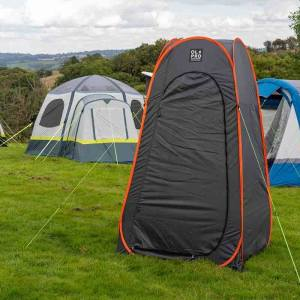 OLPRO Grey Pop Up Utility/Toilet tent
