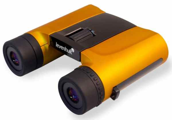 Levenhuk Rainbow 8×25 Orange Binoculars