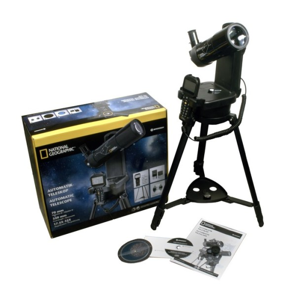 Bresser National Geographic 70/350 GOTO Telescope 70mm Refractor