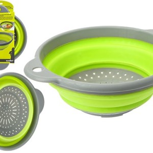 Pop! Colander Lime / Grey with Handle