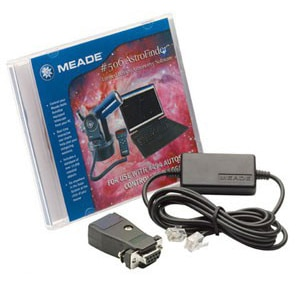 Meade #506 Connector Cable Kit with AutoStar Suite Astronomer Edition Software