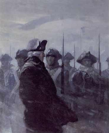 Image result for valley forge in painting