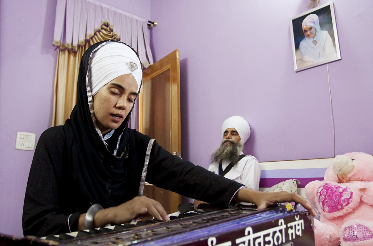 """""""Sikh values and their outward appearance have always had an effect on me from a very young age. I was about seven when I insisted on Amritpan (a Sikh method of initiation into religion) but my parents were doubtful that I could maintain the kakaars (the 5 articles of faith in Sikhism). My persistence convinced them. I promised my father to maintain them until my last breath. Ever since, I have kept them, loved them and always tried to represent the Turban in every stage of my life."""""""