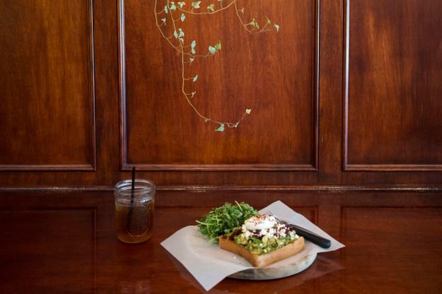 1. Diamond Head Market & Grill. / 2. Avocado toast at ARS Café and Art Gallery.