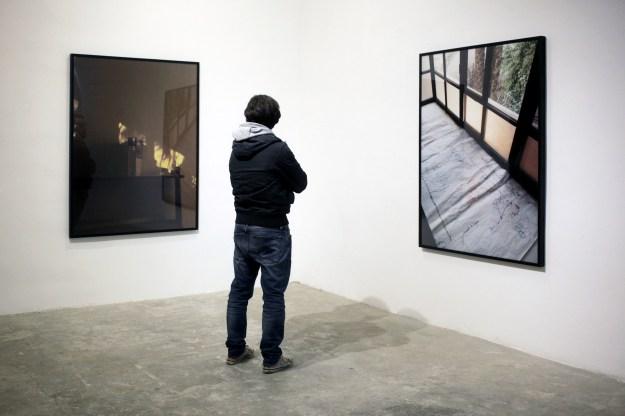 Egyptian artist Rana El Nemr's work exhibited at Beirut Art Center in Beirut, Lebanon.