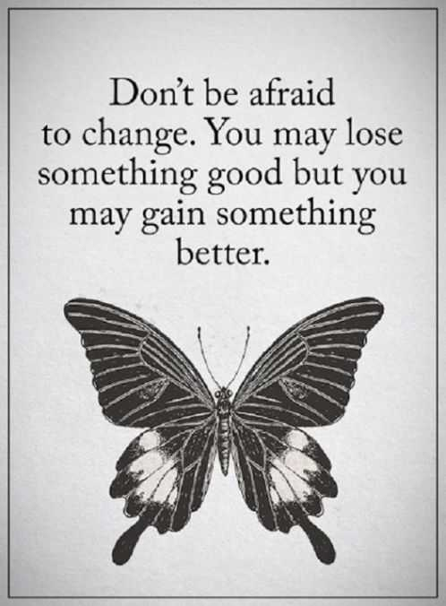 Inspirational Quotes Don't be Afraid