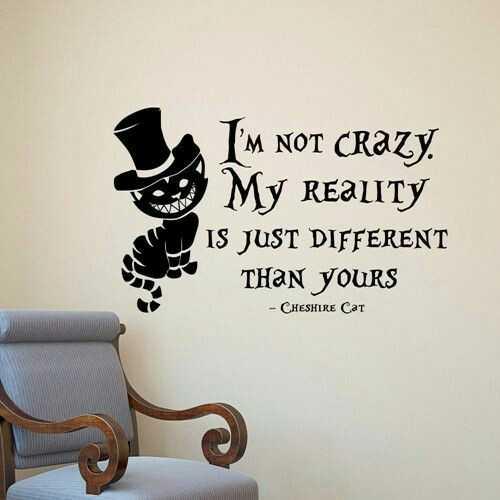 Alice In Wonderland Wall