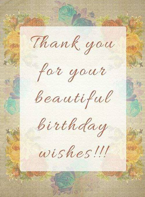 Thank You For The Congratulations : thank, congratulations, Thank, Birthday, Wishes, ExplorePic
